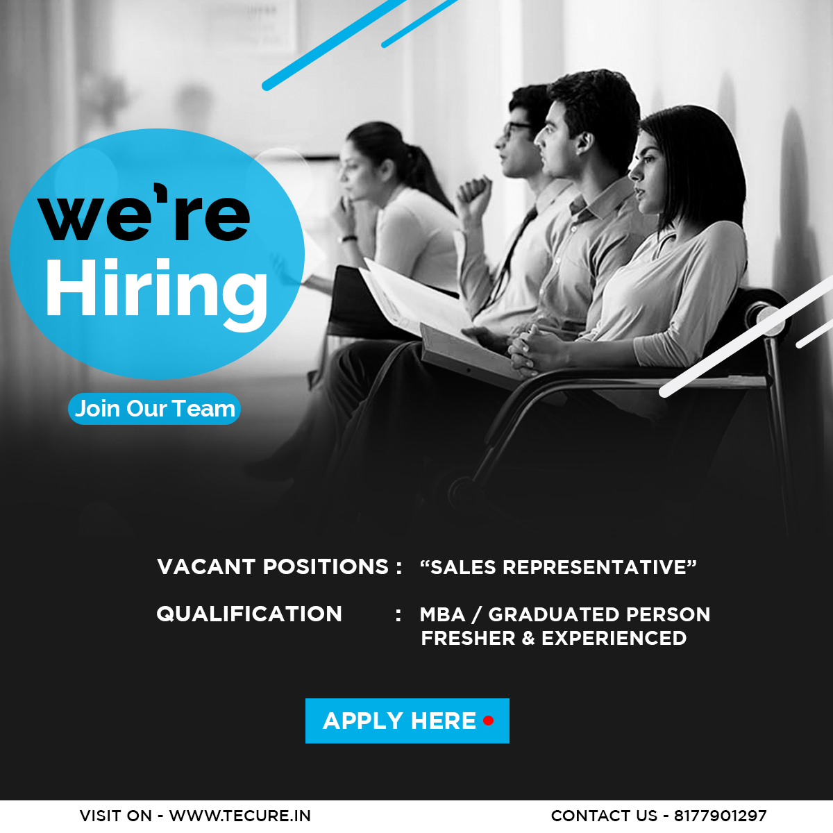 Field Sales Executive hiring in Tecure Technology Pvt Ltd