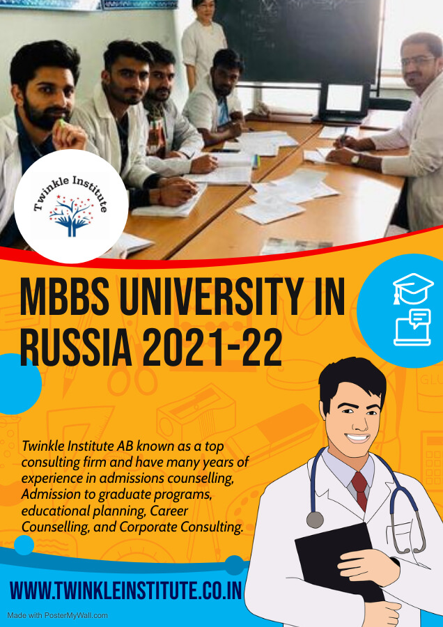 education counsellor for russia 2021 Twinkle InstituteAB