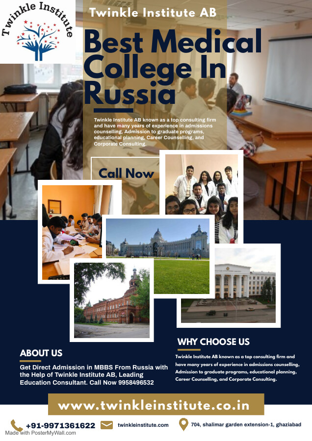 Best Medical University In Russia 2021 Twinkle InstituteAB