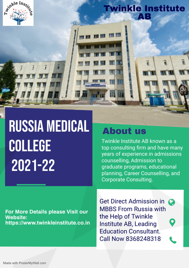 MBBS Russia 2021 Twinkle InstituteAB
