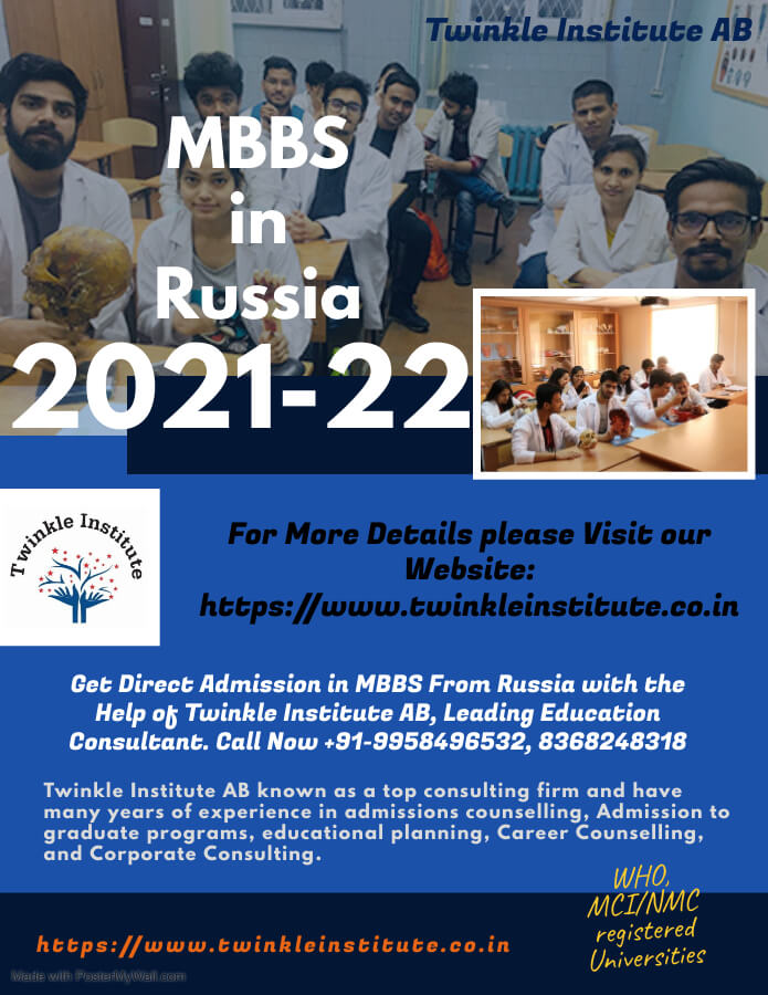 MBBS In Russia Duration 2021 Twinkle InstituteAB