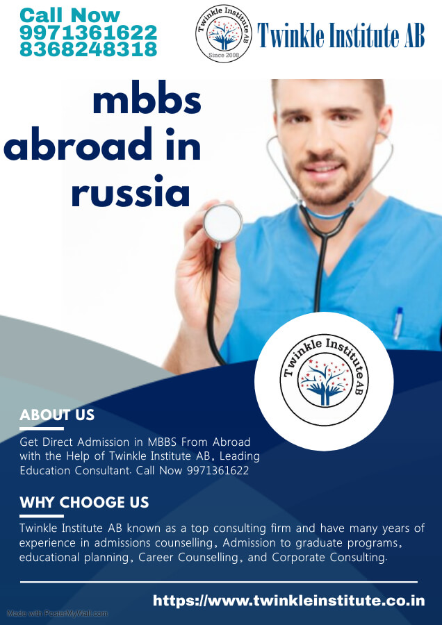 mbbs in abroad 2021 Twinkle InstituteAB