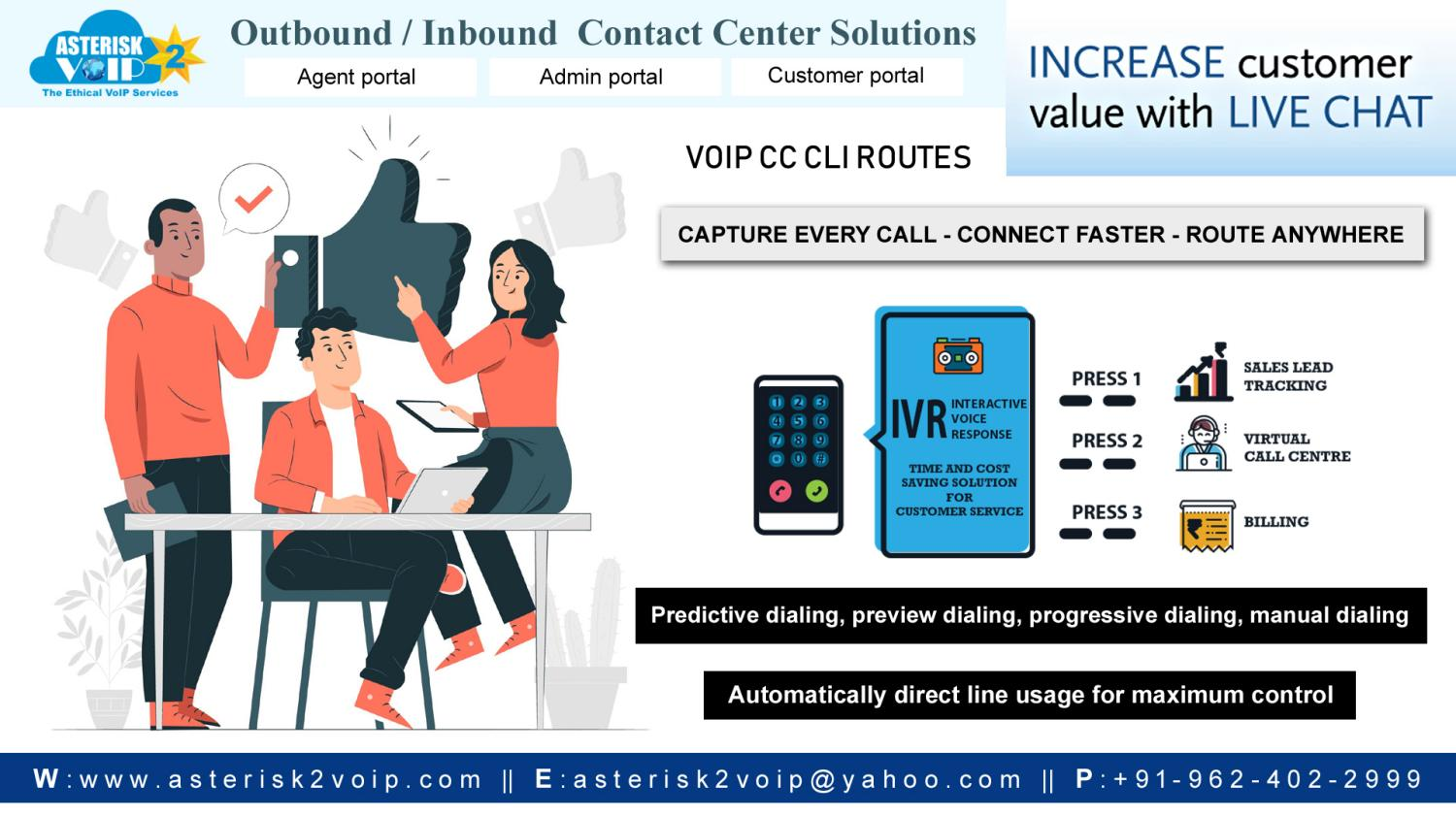 Guaranteed Quality Of Service - Asterisk2voip Technologies.