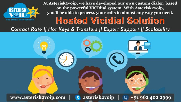 Hosted Vicidial Solution Provided by Asterisk2voipTech