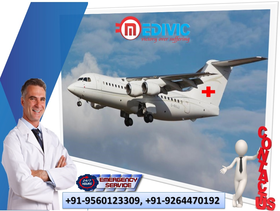 Reliable Medivic Air Ambulance Services in Kullu for Needy