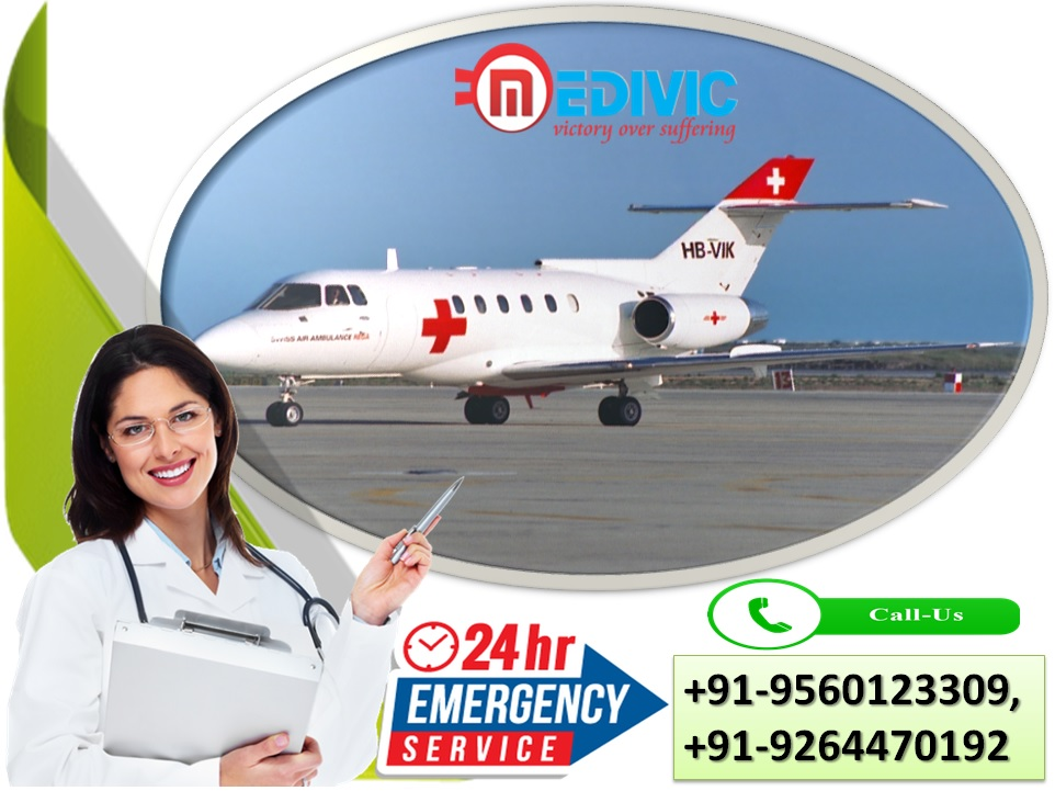 Hassle-Free Emergency Air Ambulance Services in Lucknow