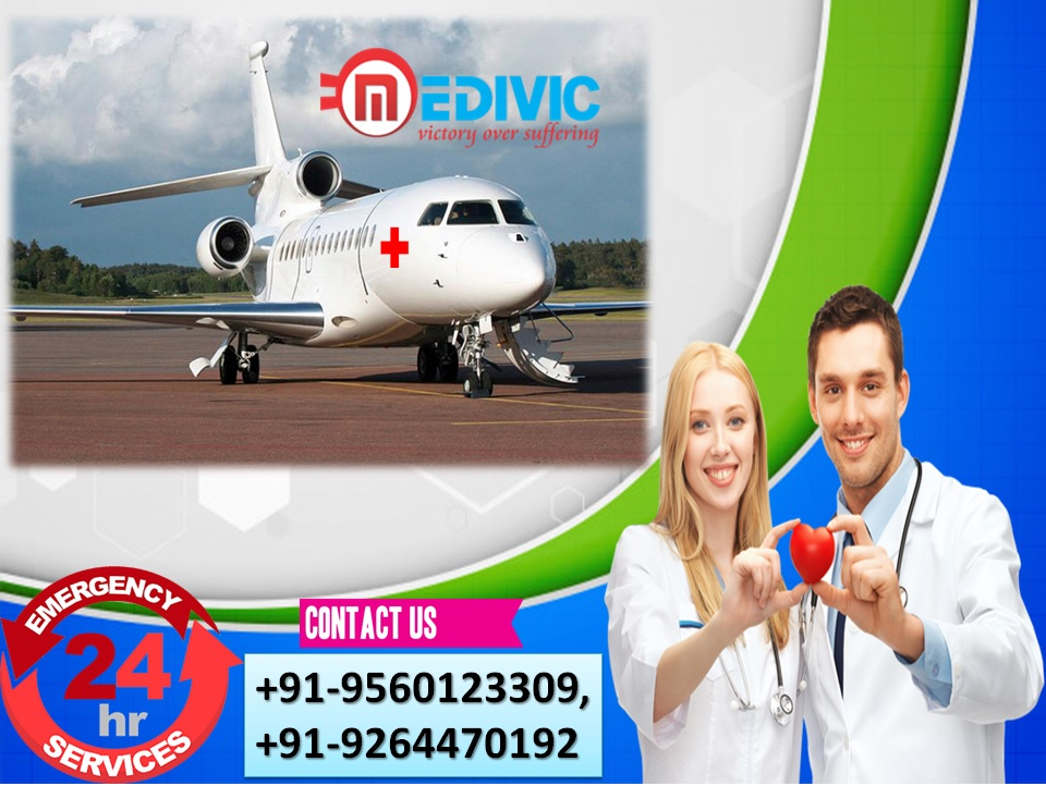 Supersonic Care by Medivic Air Ambulance Services in Nagpur