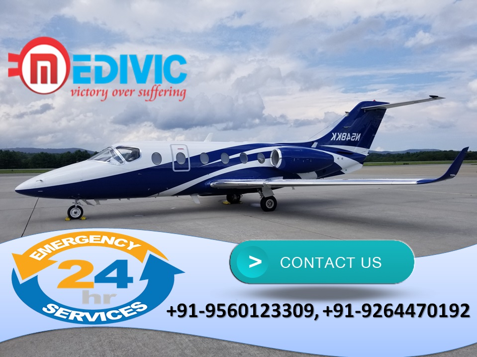 Get Stupendous Charter Air Ambulance Services in Dimapur