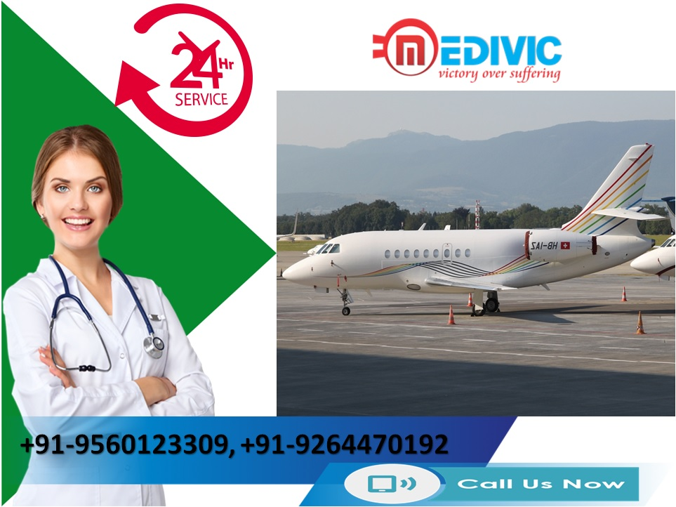 Avail Highly-Developed Air Ambulance Services in Silchar