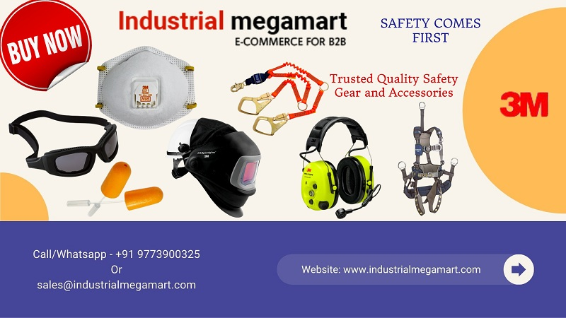 3M safety workwear accessories supplier +91-9773900325