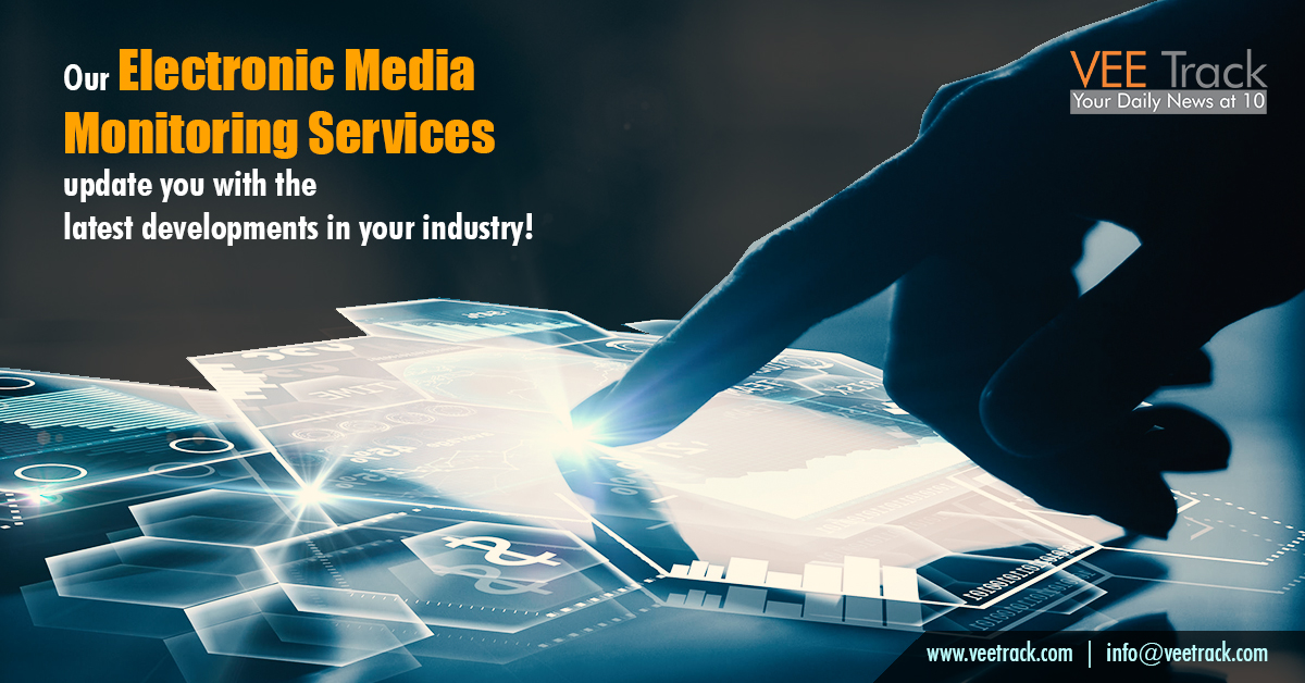 Electronic Media Monitoring services by VeeTrack