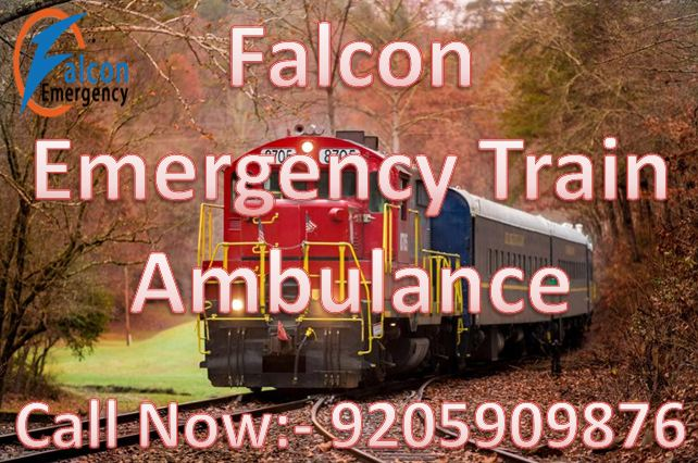 Get Superfast Train Ambulance in Varanasi with ICU Facility