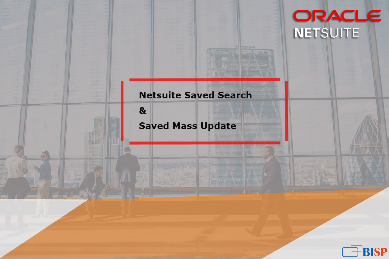 How to Perform NetSuite Mass Update| NetSuite Consulting