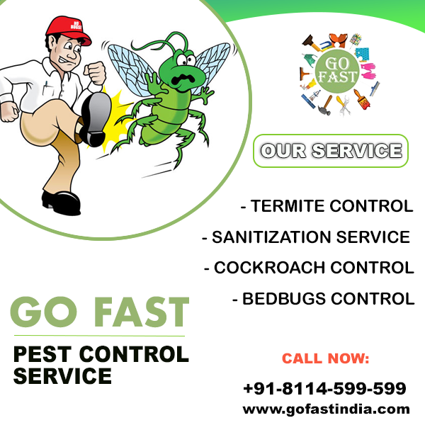 Go Fast India- Pest Control Service In India