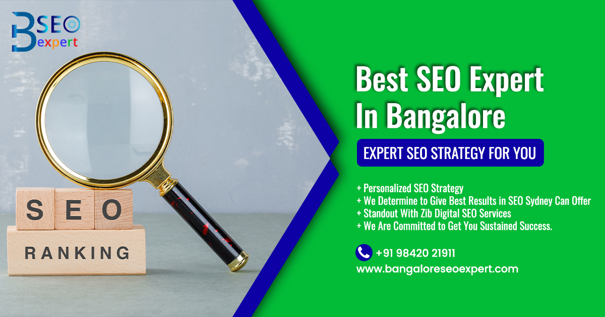 SEO Expert In Bangalore | Top SEO Service Agency