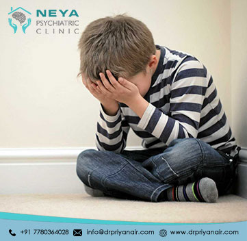 Signs of Depression in the Children Develop