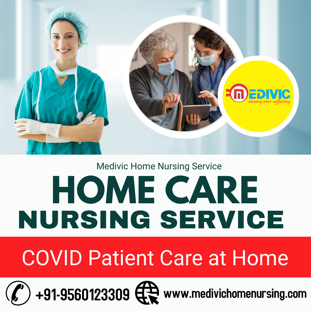 Medical Support for COVID Patient Care at Home by Medivic