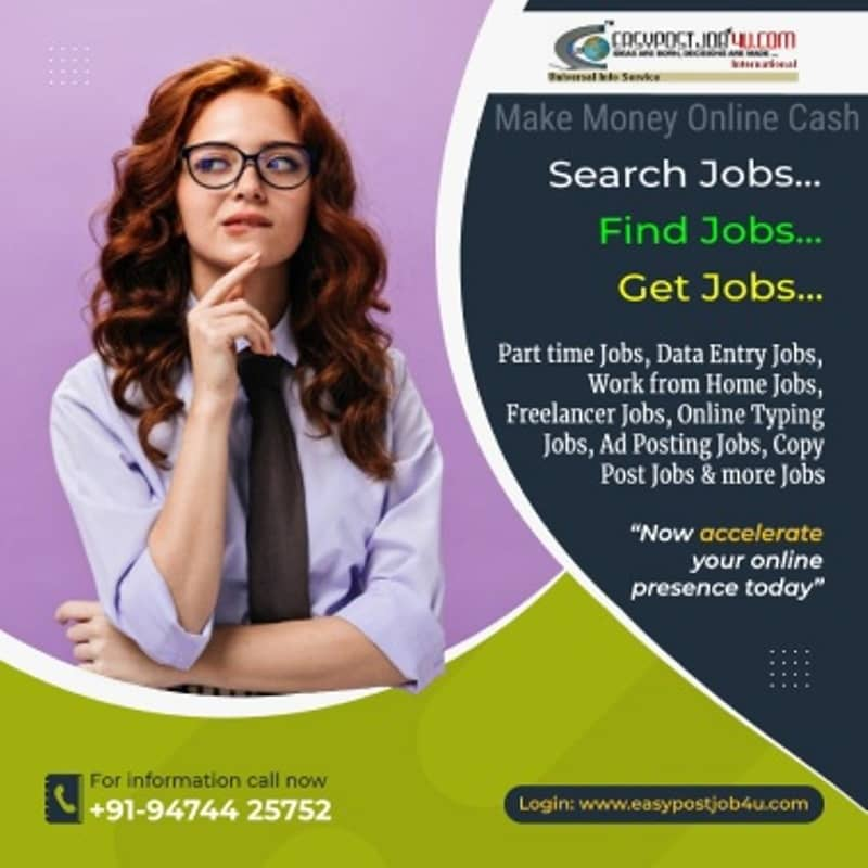 Work from home data entry jobs vacancy in your city