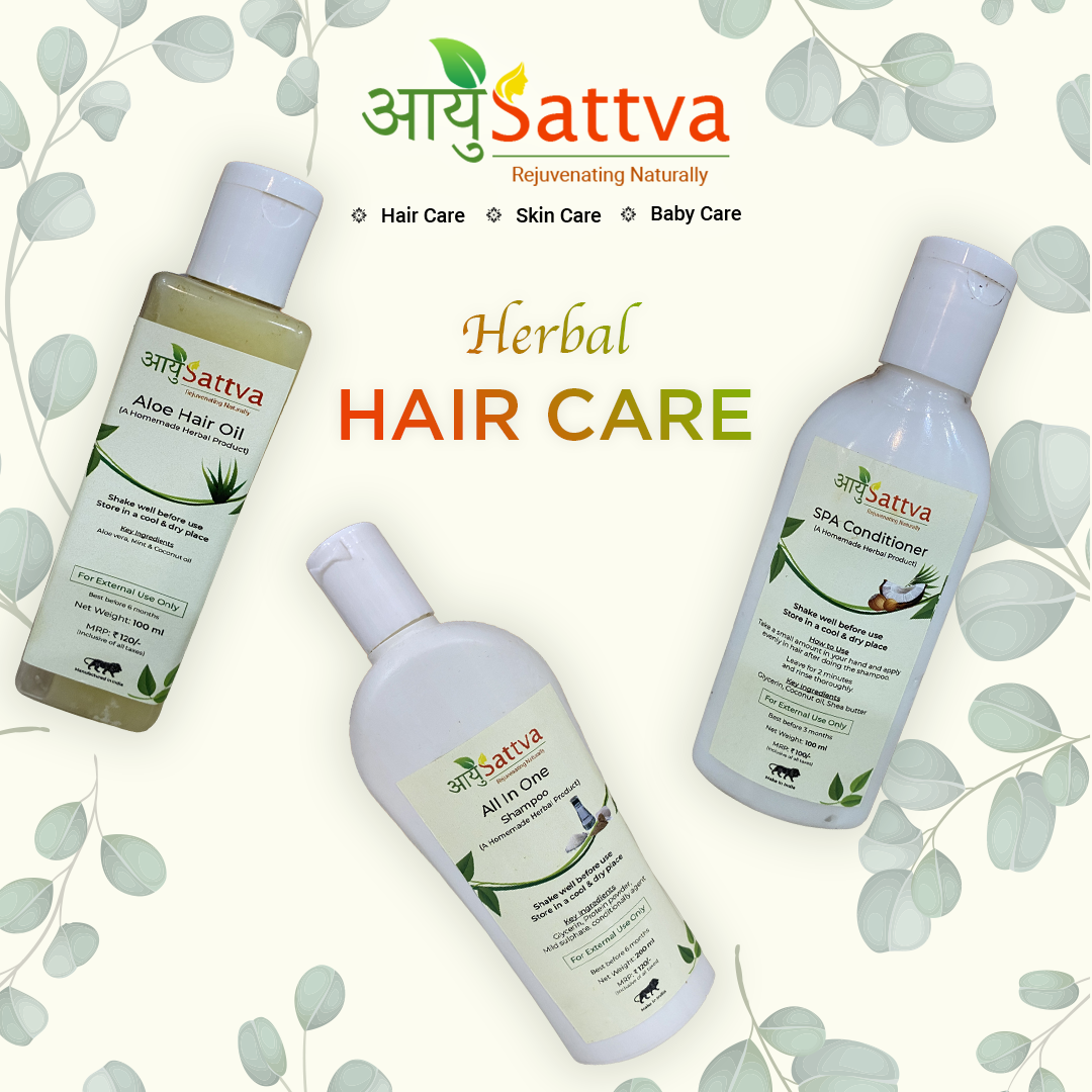 Herbal  haircare, for you, your family, and friends