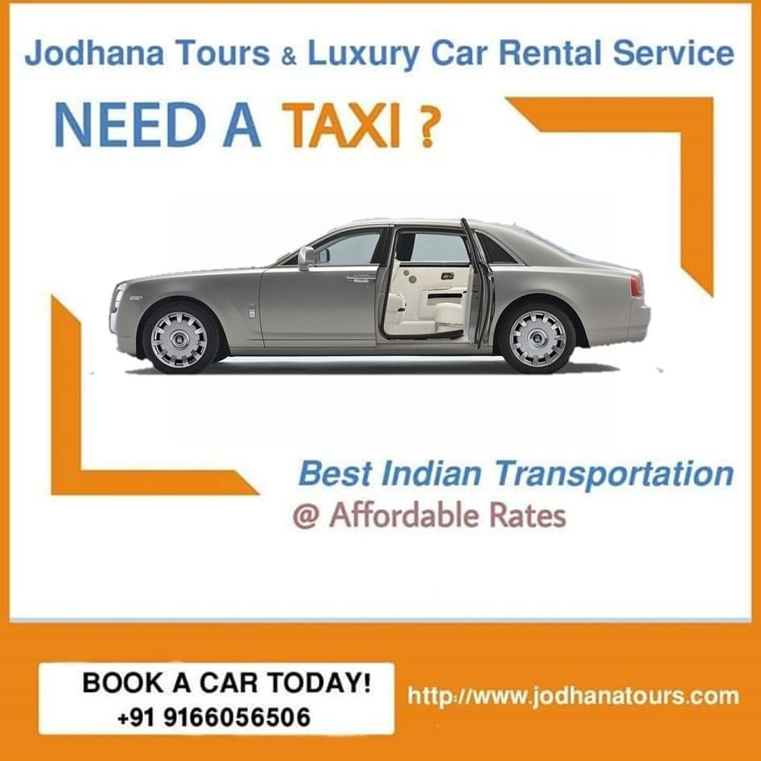 Car hire and Rental Services in Jodhpur