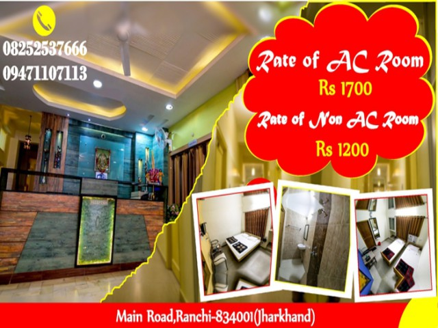 Hotel with Safety & security in Ranchi