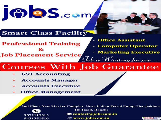 Accounts Executive job in Ranchi