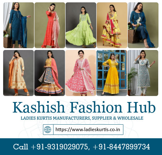 Ladies Kurtis Manufacturers
