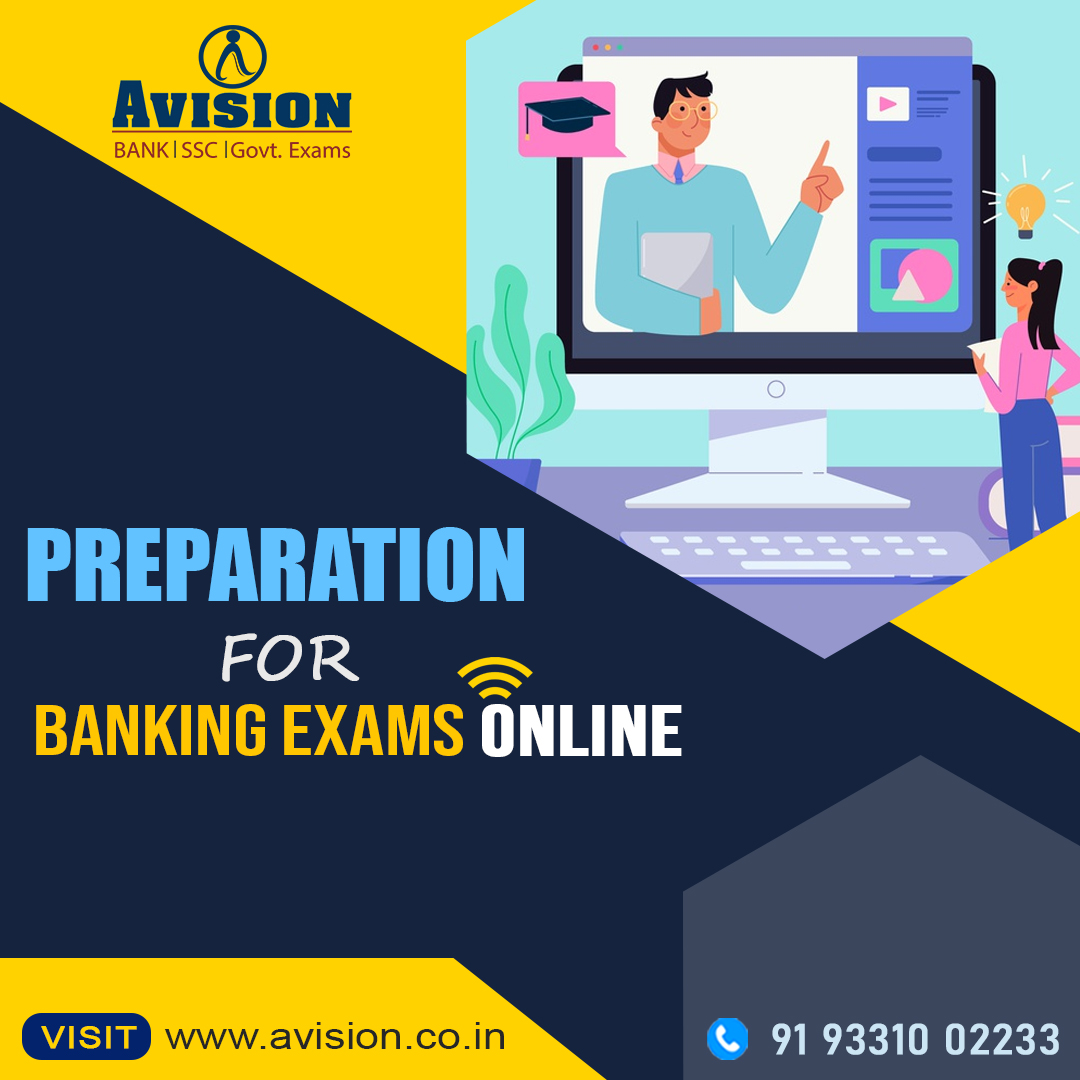 Preparation for Banking Exams Online with Avision Institute
