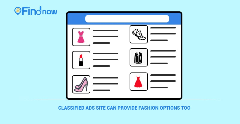 Classified Ads Site Can Provide Fashion Options Too